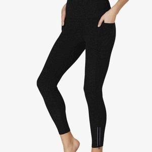 Spacedye Subtle Zip High Waisted Midi Legging